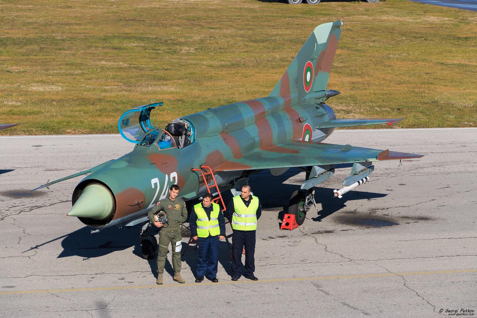 BuAF MiG-21 farewell