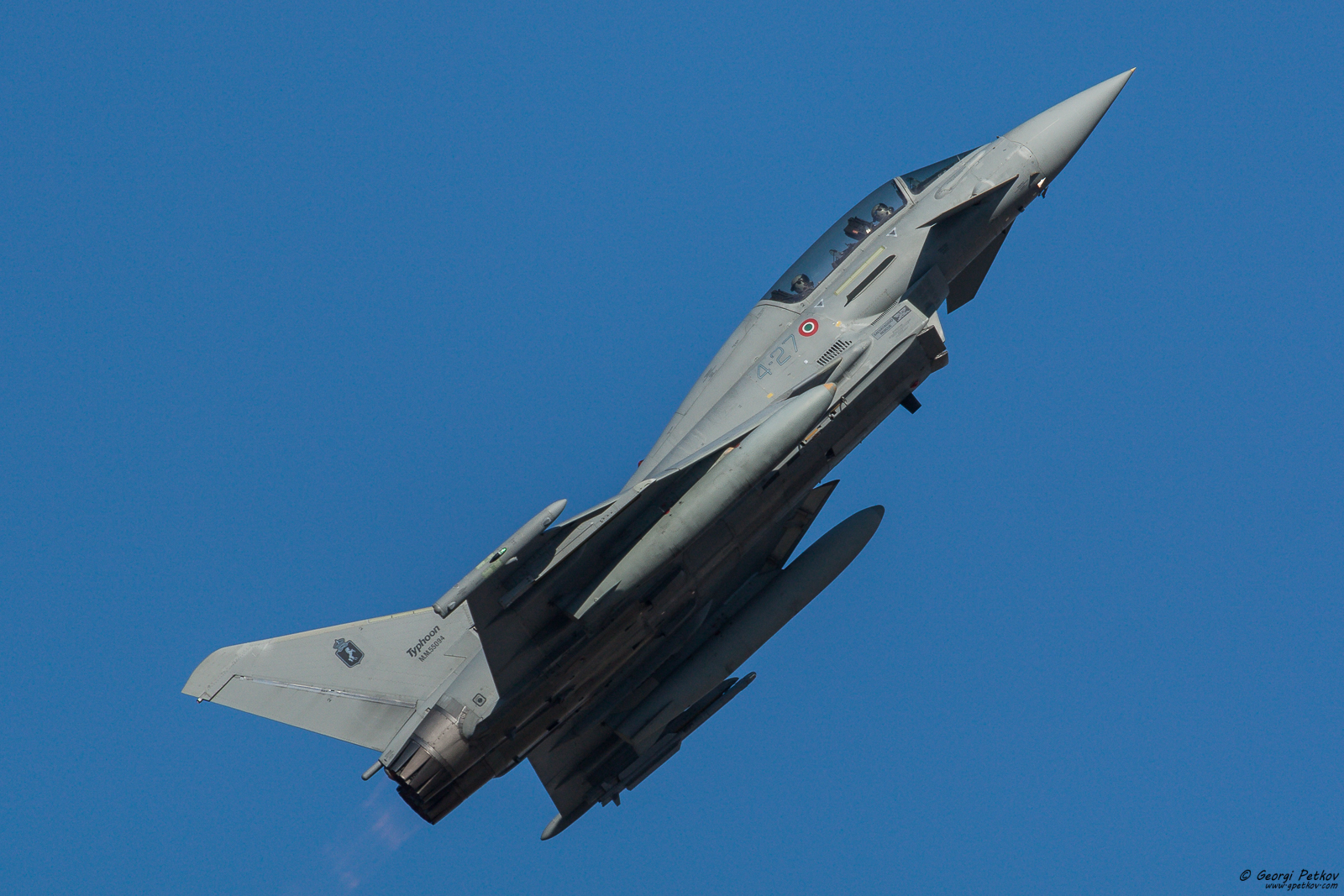 Eurofighter Typhoon presentation in Bulgaria