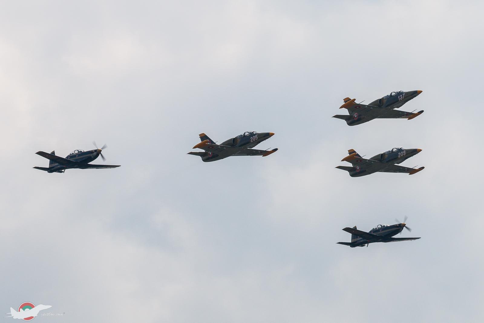75th anniversary of Dolna Mitropolia airbase