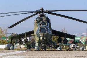 Ми-24 с боекомплект