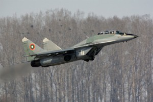 Излитане на МиГ-29УБ