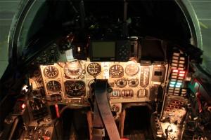 Кабина на МиГ-29