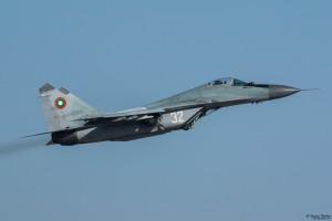 Излита МиГ-29