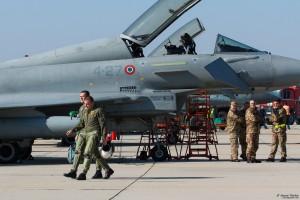 Български пилоти се прибират след задача