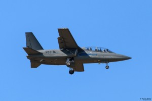 Textron Scorpion arrival day