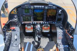 Textron Scorpion front cockpit