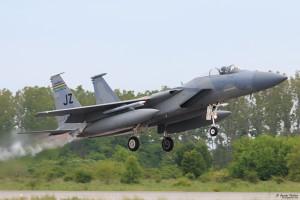 Излитане на F-15C