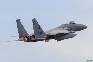 Излитане на форсаж на F-15C
