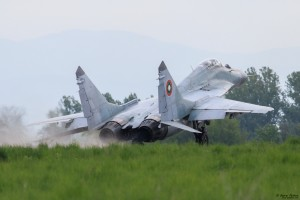 МиГ-29 излита на максимал
