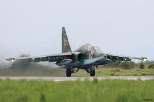 Су-25УБ излита от Граф Игнатиево