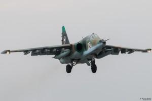 Су-25УБ каца