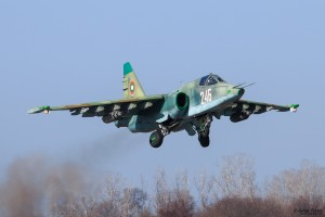 Излитане на Су-25