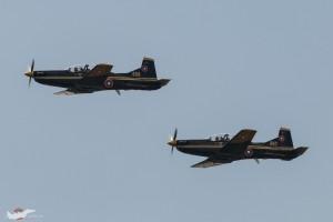 Двойка Pilatus PC-9M