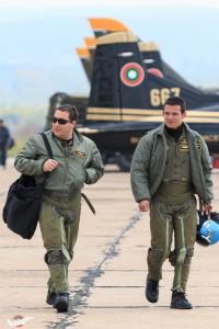 бълграски пилоти след задача
