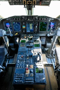 Cockpit of C-27J Spartan