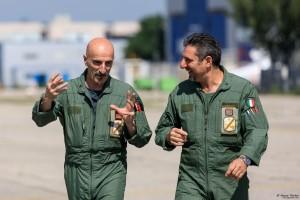 Italian Spartan pilots